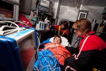 CHETA's onboard equipment includes state-of-the-art pediatric monitors, invasive and noninvasive ventilators, and even an isolette for the smallest children.
