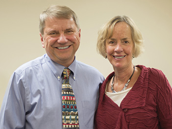 Robert Lemanske, MD, and Kathleen Shanovich, NP.